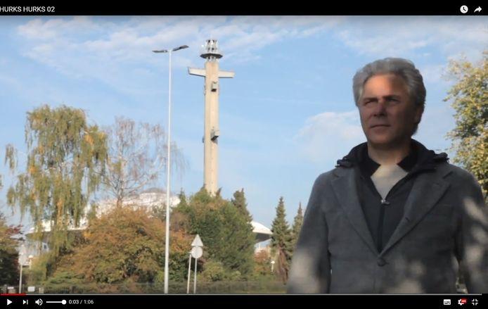 Geert Hurks van Hurks Vastgoedontwikkeling, een van de partners in het plan Evoluon Innovation Park in Eindhoven.