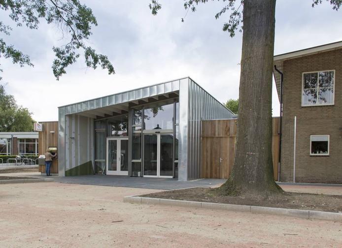Het Kulturhus in Beltrum. Ontwerp: Arnoo Holleman (Architektengroep Gelderland / Zelhem)