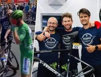 Terug dikke vrienden: woedende Cavendish vliegt uit tegen mecanicien voor start, maar biedt achteraf excuses aan