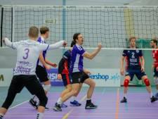 Volleyballers Vocasa houden kleine kans op kampioenspoule na winst in spannende vijfsetter