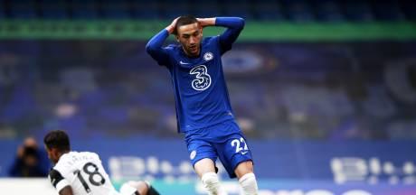 Gemiste kans Ziyech wordt Chelsea niet fataal, El Ghazi matchwinner Villa