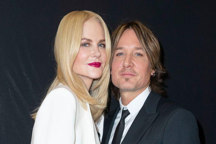 Nicole Kidman et son mari Keith Urban, le  2 juillet 2019 à Paris