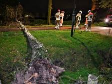Storm in Brabant | Bijna 250 schademeldingen, attractie stort deels in op kermis