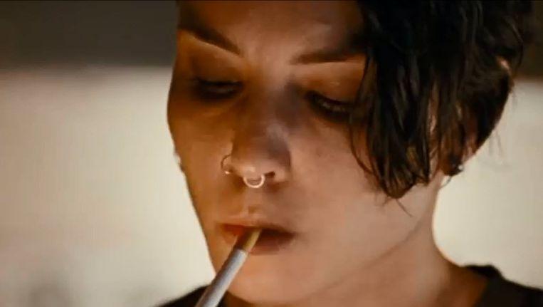 Noomi Rapace als Lisbeth Salander Beeld .