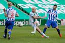 Robben pikte tegen Heerenveen bijna een doelpuntje mee.