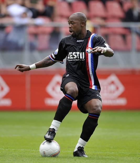 Voormalig Willem II-speler Ibrahim Kargbo.