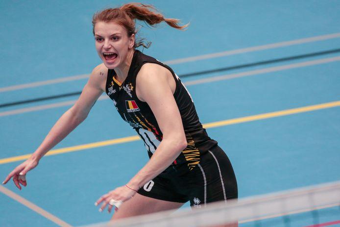 """Dominika Sobolska: """"Ik ben blij om weer bij de Yellow Tigers te zijn."""""""