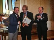 Spaans 'wijn-lintje' voor Eindhovense sterrenkok Zarzo