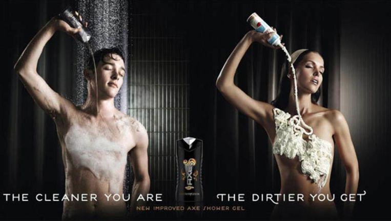 reclamecampagne Axe douchegel ui 2011