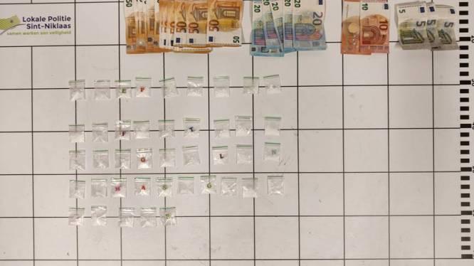 Drugdealer betrapt met 41 zakjes cocaïne