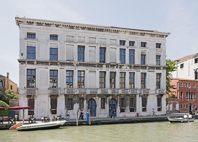 Het Palazzo Venier-Manfrin in Venetië. Beeld