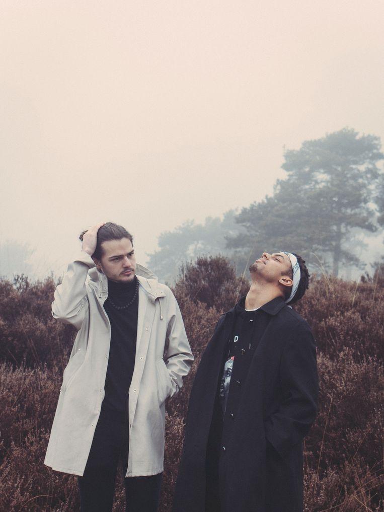 Willem Ardui en Jean Atohoun, samen blackwave. Beeld Tina Herbots