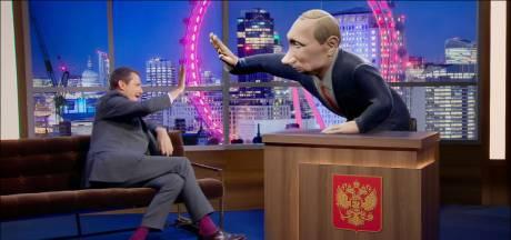 Vladimir Poutine, animateur de talk-show sur la BBC