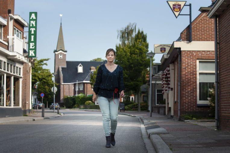 Volgens godsdienstwetenschapster Jacobine Gelderloos kan de kerk het 'cement' van het dorp versterken. Beeld Reyer Boxem