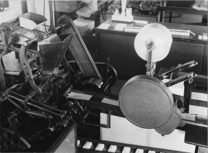 Een inpakmachine of vulmachine, klaar voor de strijd.