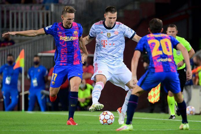 Luuk de Jong kon zijn debuut niet bekronen met een doelpunt.