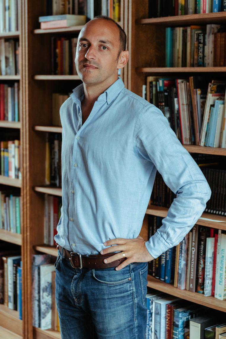 Joren Vermeersch, adviseur ideologie van N-VA.  Beeld Damon De Backer