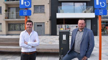Houtem gaat voor elektrische deelwagens op het Marktplein