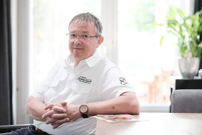 """Voorzitter Herman ter Haar van Stichting Bloemencorso Lichtenvoorde: ,,Ik vind het prachtig om met een team mensen het corso te organiseren. Maar het had ook een ander groot evenement kunnen zijn."""""""