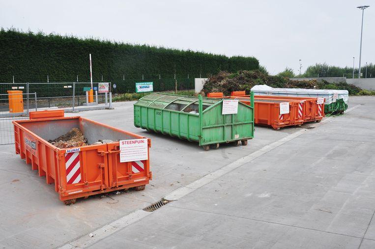 Het containerpark van Heuvelland kreeg enkele aanpassingen.
