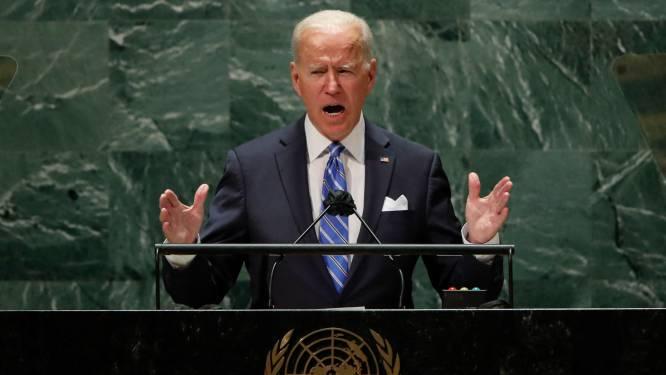 """Biden: """"Beslissend decennium is aangebroken voor de mensheid. We moeten samenwerken zoals nooit tevoren"""""""