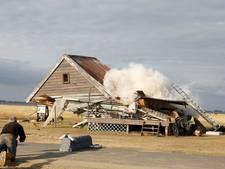 'Filmhuis' in Perkpolder omgevallen
