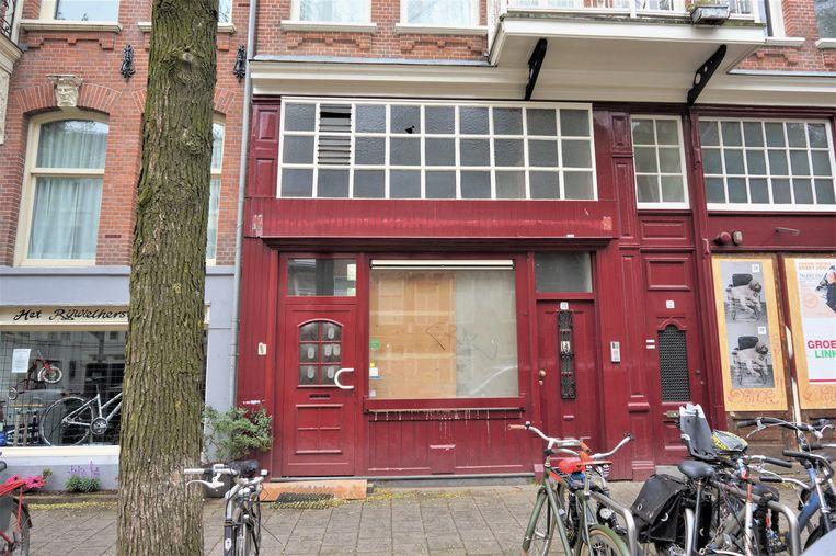 Plantage Kerklaan 12-14 vóór de renovatie. Beeld Privé-archief