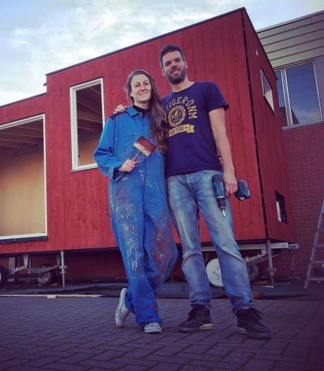 Bij dit Tiny House in Hoogerheide kun je zaterdag een kijkje komen nemen