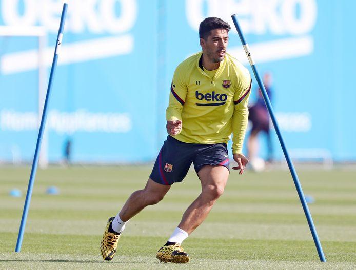 Luis Suárez is weer fit na zijn meniscusblessure die hij begin dit jaar opliep.