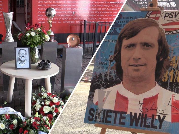 Supporters eren Willy van der Kuijlen: 'PSV zit in m'n hart door hem'