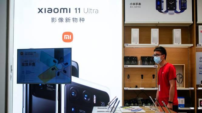 Smartphonefabrikant Xiaomi niet meer op zwarte lijst VS