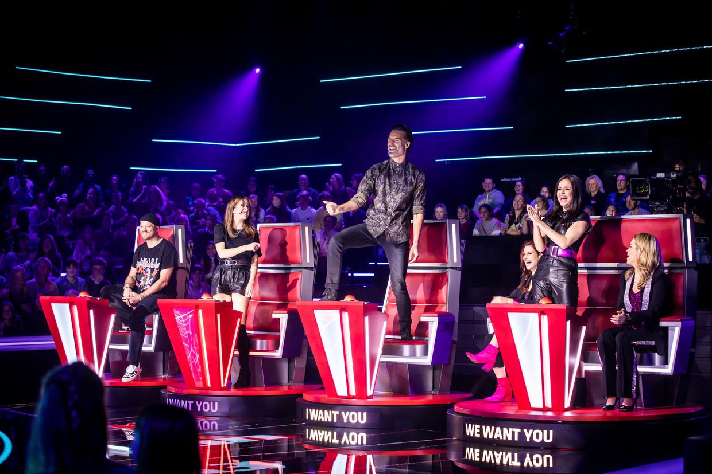 'The Voice Kids': Gers Pardoel, Laura Tesoro, Sean Dhondt & K3 Beeld VTM