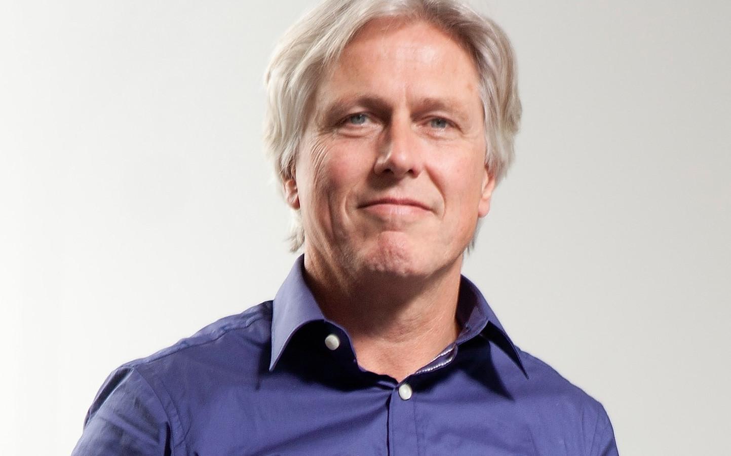 Industrieel designer Marcel Vroom van het Leidse bureau NPK design is een van de bedenkers van H2arvester.