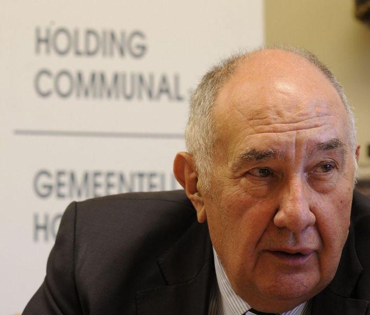 Francis Vermeiren, voorzitter van de Gemeentelijke Holding. Beeld BELGA
