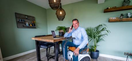 Leidinggevende Rob (56) heeft de spierziekte FSHD: 'Collega's zijn eraan gewend dat ik soms omval'