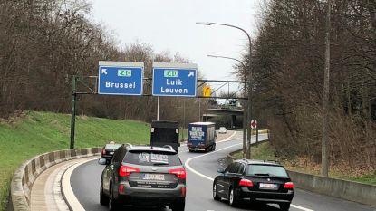 Wekenlang 's nachts hinder verwacht op knooppunt Sint-Stevens-Woluwe door plaatsing ledverlichting: verbindingen E40 en R0 worden afgesloten