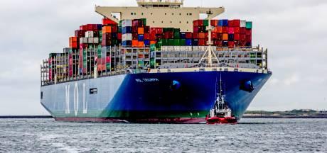 Recordlading ijzer arriveert in Rotterdam