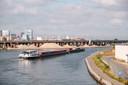 Uitzicht vanop de Theunisbrug.