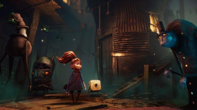 Visueel heeft 'Lost in Random' een amalgaam van invloeden uit duistere sprookjes. Beeld Electronic Arts