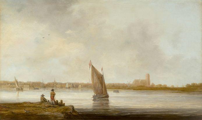 Aelbert Cuyp, Gezicht op Dordrecht, ca. 1644-45.