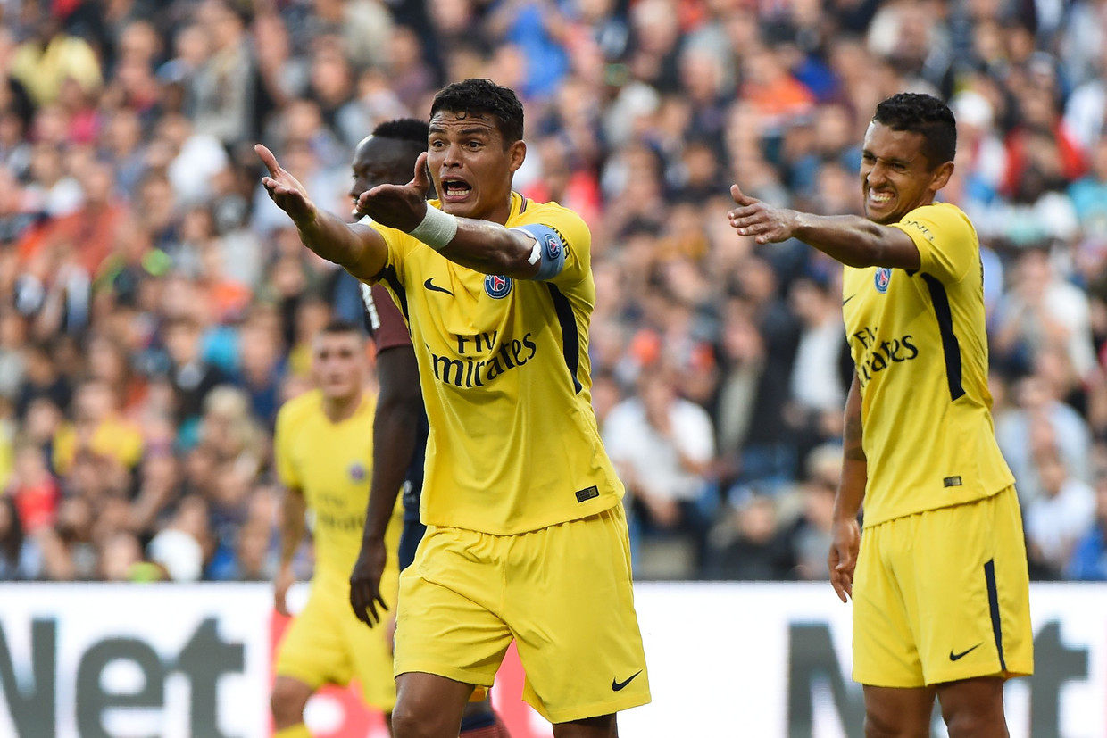 Het centrale duo van Paris Saint-Germain