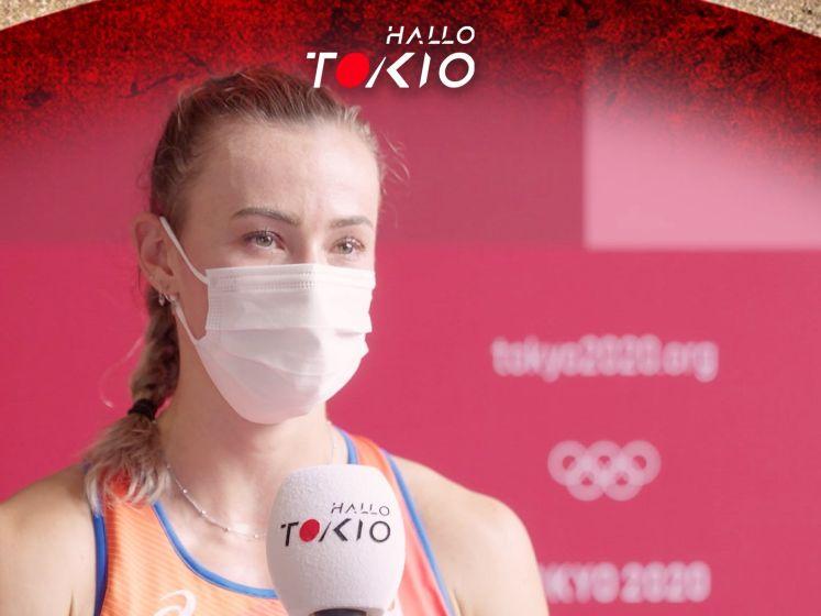 Grote teleurstelling bij Nadine Visser na mislopen medaille