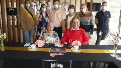 Ex-leerkrachten André en Christiane vieren zestig jaar huwelijksgeluk
