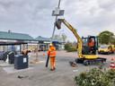 Om de leefbaarheid te verbeteren, zijn in de wijk Paasbos in Nijkerk nieuwe lichtmasten in de grond geslagen.