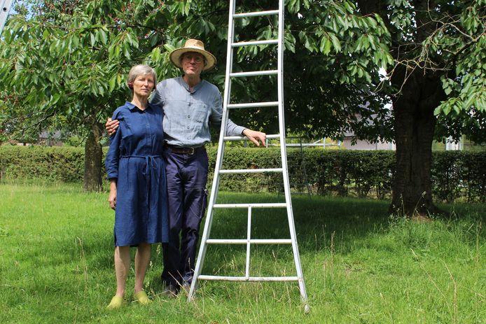 Peter Vandendaele en zijn echtgenote Linda Plessers van Pajottenlander.