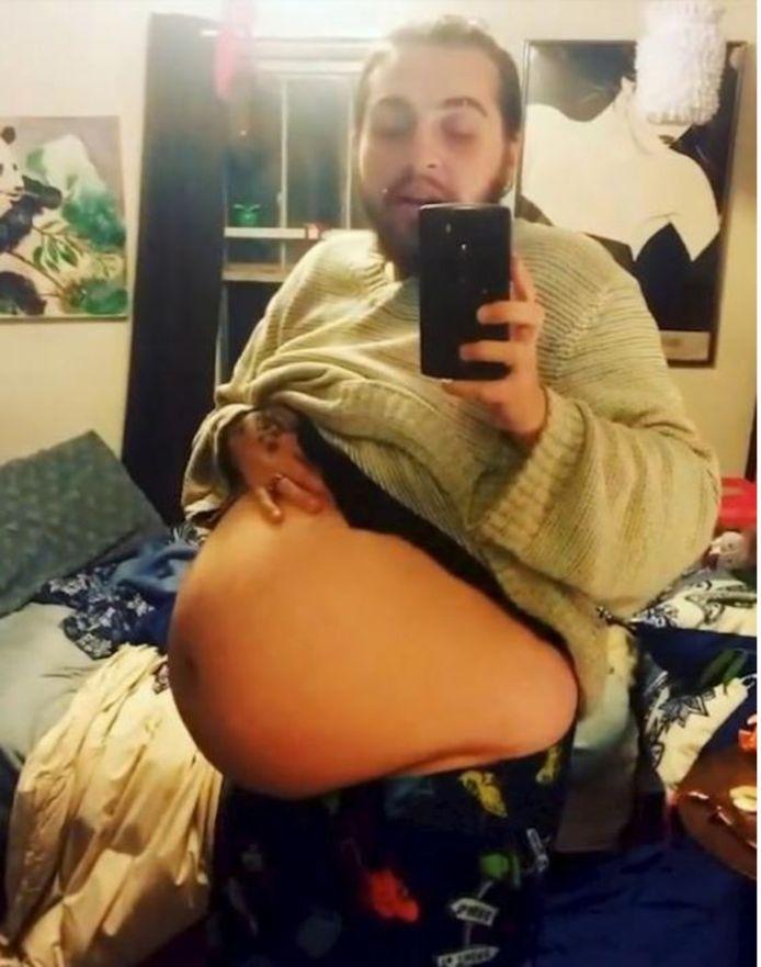 Kaci Sullivan was volop in transitie van vrouw naar man maar staakte de hormoonbehandeling en werd op natuurlijke wijze zwanger.