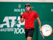 Tsitsipas treft Roeblev in finale Monte Carlo na overtuigende zege