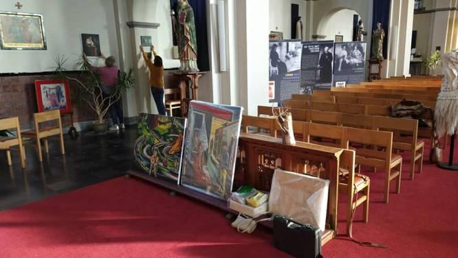 Kunsttentoonstelling Septem Campi in de kerk, zeven vrouwen exposeren: ze wonen of zijn geboren in Geluveld
