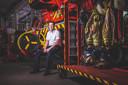 Brandweerman Yves Pieters redde 25 jaar geleden de ballonvaarder en zijn passagiers uit hun hachelijke positie