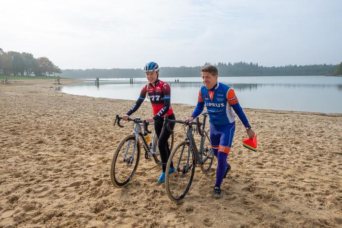 Annemarie Worst en Bert Jan Hamer hebben zich druk gemaakt over het parcours.